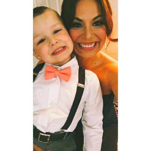 Kane and Mom - Reba's Wedding